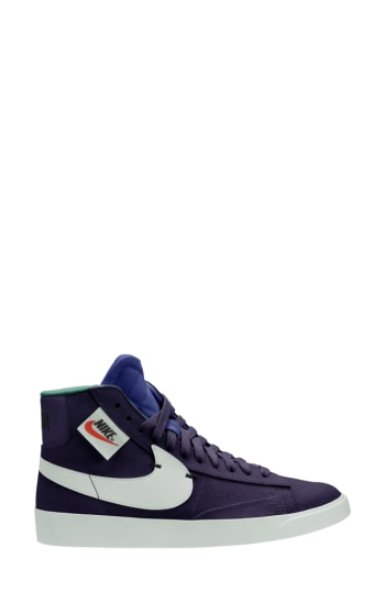 Women's Nike Blazer Mid Rebel Sneaker, Size 8 M - Blue