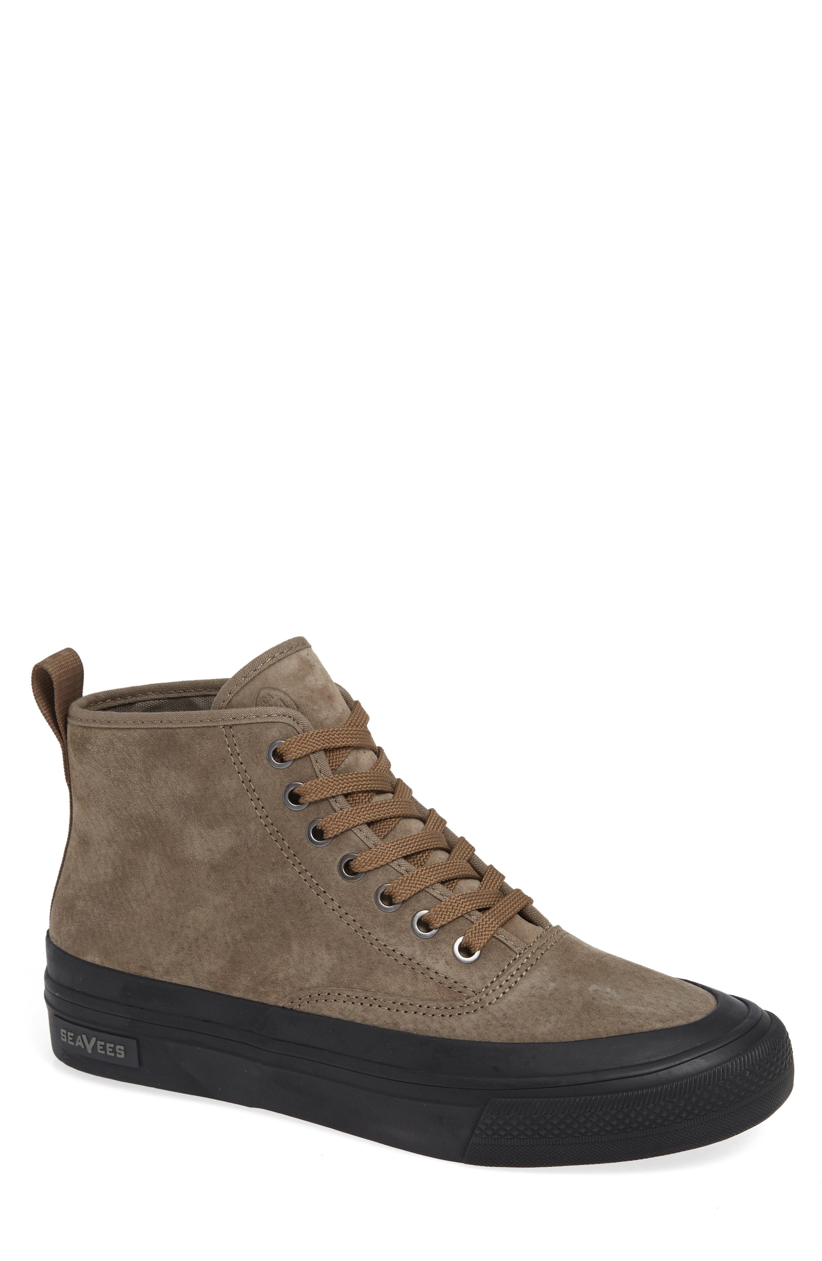 Men's Seavees Mariners Waterproof Sneaker, Size 10 M - Brown