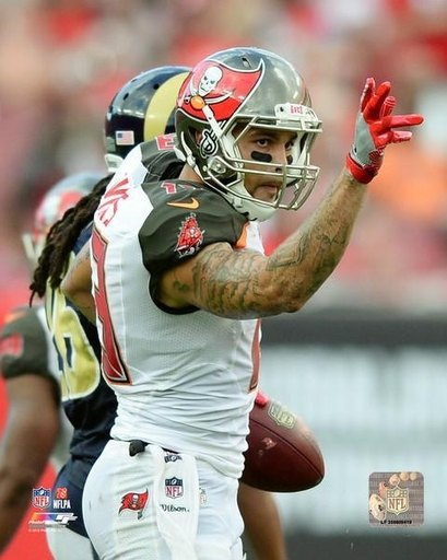 Mike Evans 2016 Action Photo Print (20 X 24)
