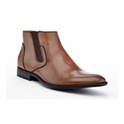 Adolfo Zacky Men's Chelsea Dress Boots 10 Bro Medium