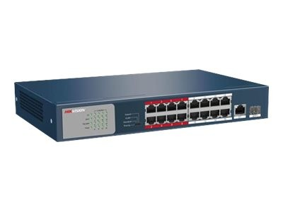Hikvision Ds-3E0318P-E/m - Ds-3E Series - Switch - Nicht Verwaltet - 16 X 10/100 (PoE+) +.