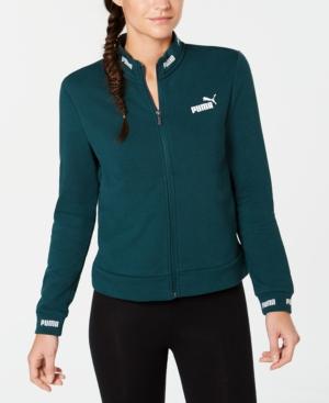PUMA Green Track Jacket