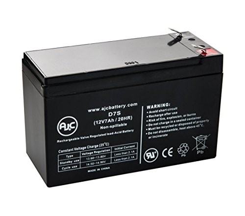 Panasonic LC-RB126RSP Sealed Lead Acid - AGM - VRLA Battery - This is an AJC Brand Replacement