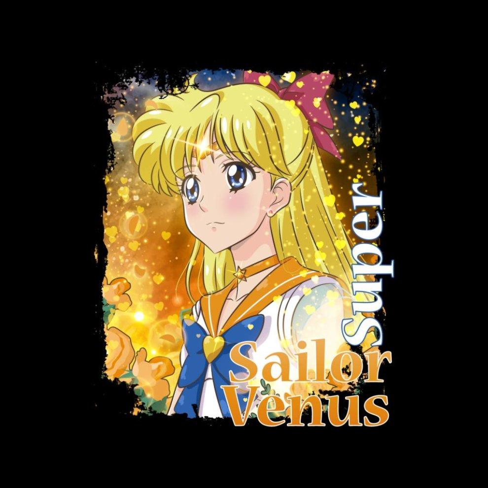 (Medium (7-8 Yrs)) Super Sailor Venus AKA Minako Aino Kid's Varsity Jacket thumbnail 2