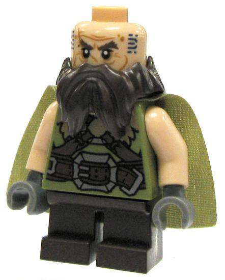 LEGO the Hobbit Dwalin the Dwarf Minifigure [No Packaging]