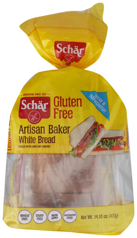 Schar Gluten Free Classic White Bread, 14.1 Ounce