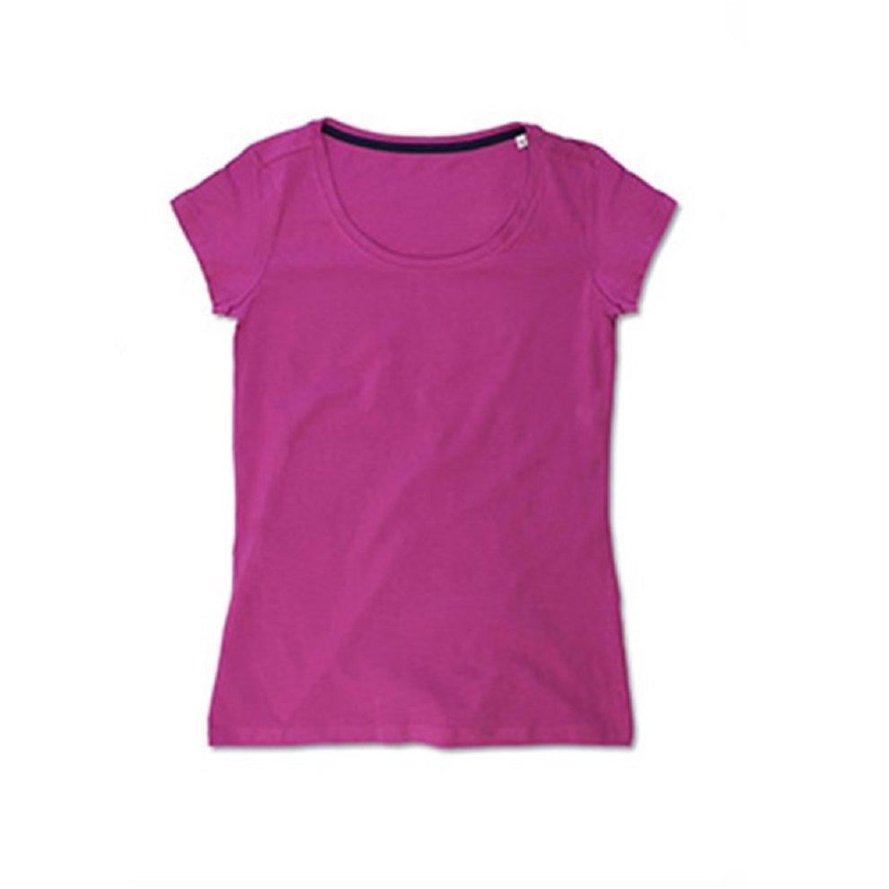 (XL, Cupcake Pink) Stedman Womens/Ladies Claire Crew Neck Tee