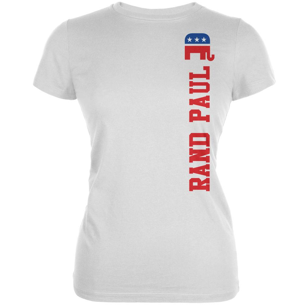 Election 2016 Team Rand Paul White Juniors Soft T-Shirt