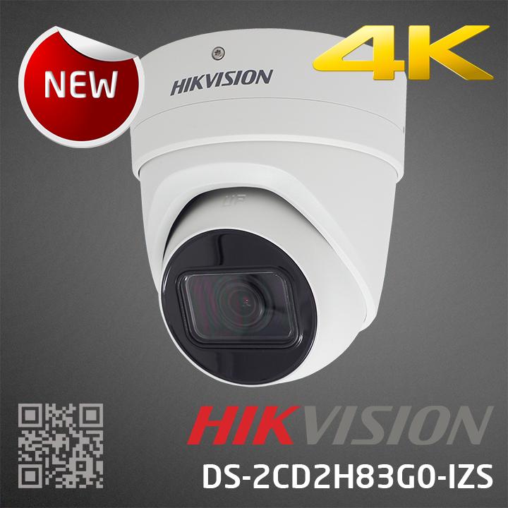 HIKVISION DS-2CD2H83G0-IZS, 2.8-12mm