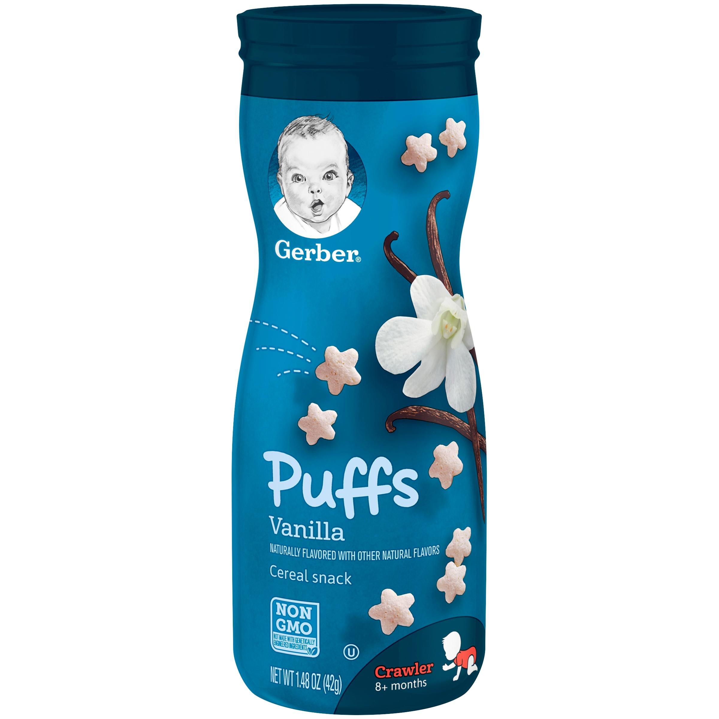 Puffs Cereal Snack Vanilla