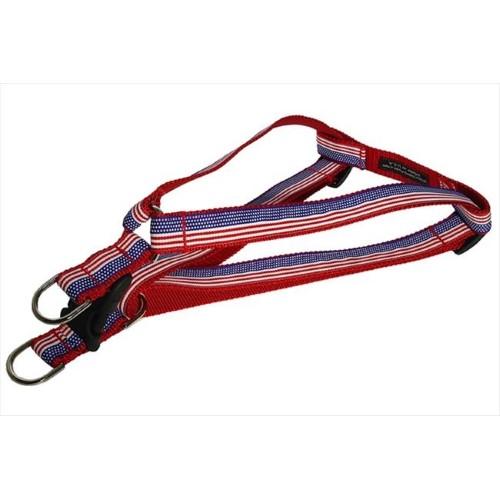 AMERICAN FLAG4-H American Flag Dog Harness - Large
