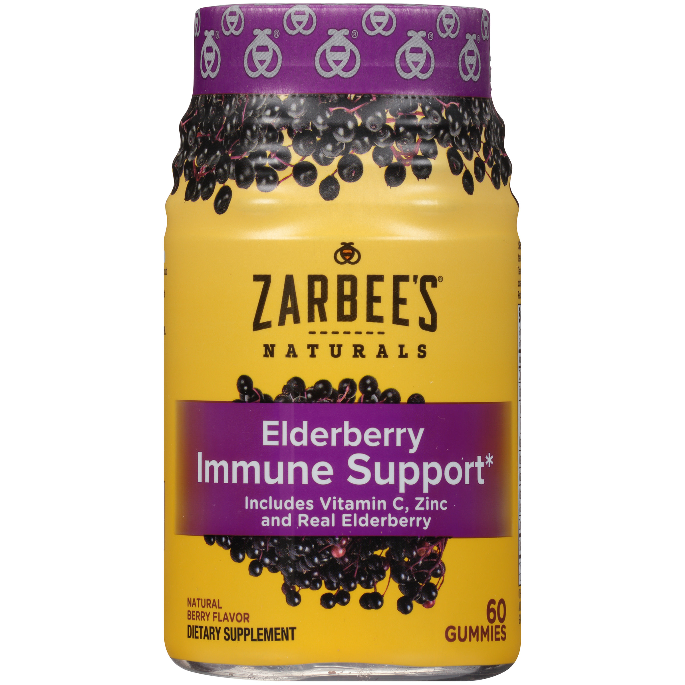 Zarbee's Naturals Elderberry Immune Support Gummy