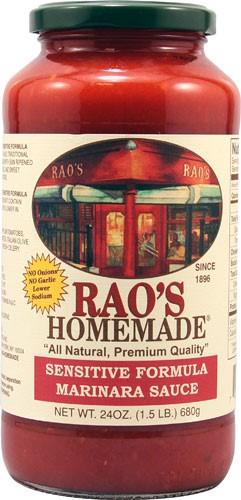 Rao's Homemade Sensitive Formula Marinara Sauce