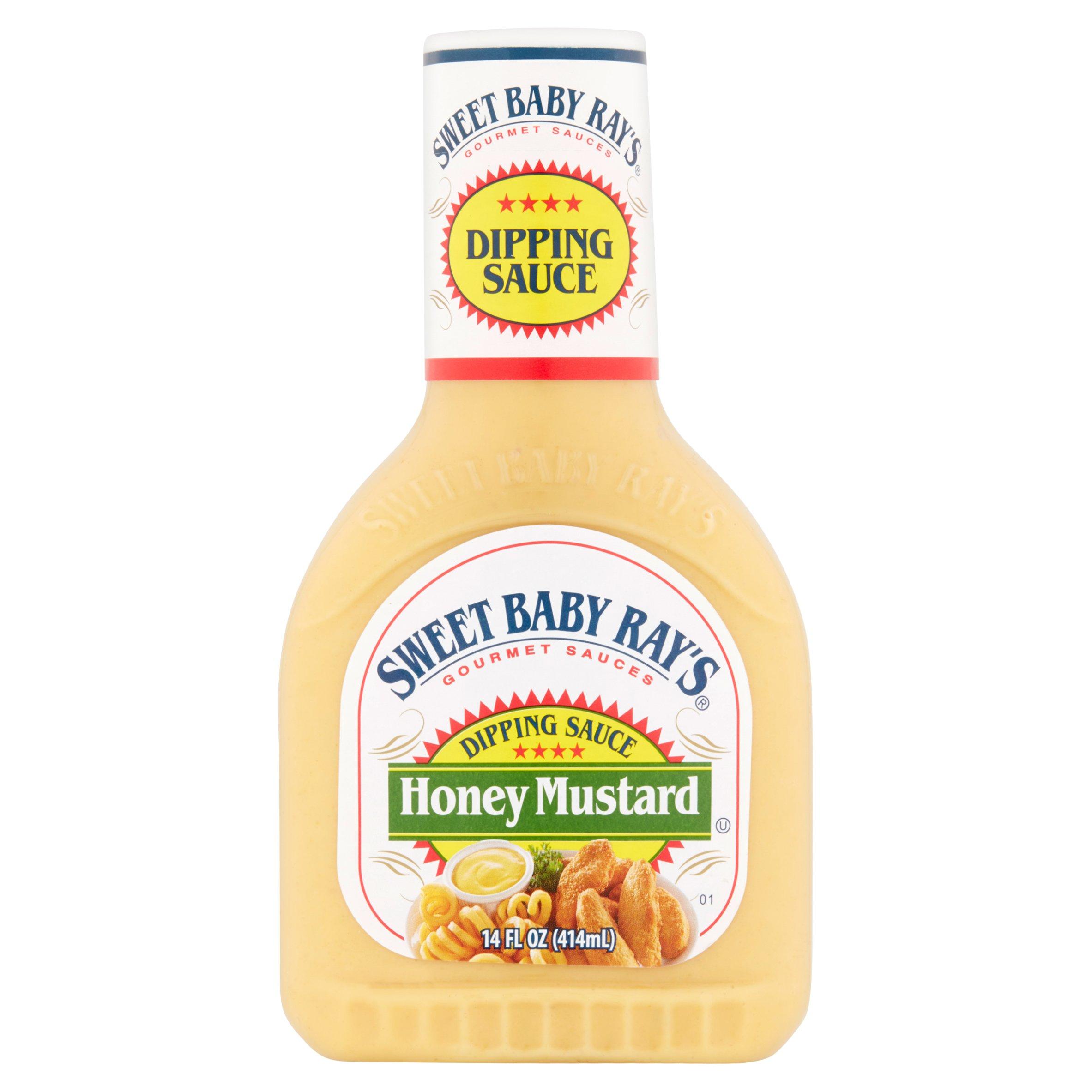 Sweet Baby Ray's Honey Mustard Dipping Sauce (Pack Of 3) 14 Oz Bottles
