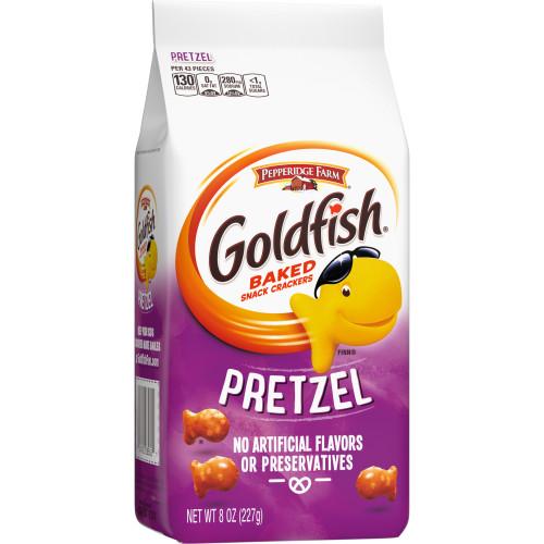 Pepperidge Farm Goldfish Crackers Baked Snack Pretzel - 8 Oz