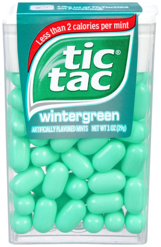 Tic Tac Mint, Wintergreen, Fresh Breath Mints, 24 Count