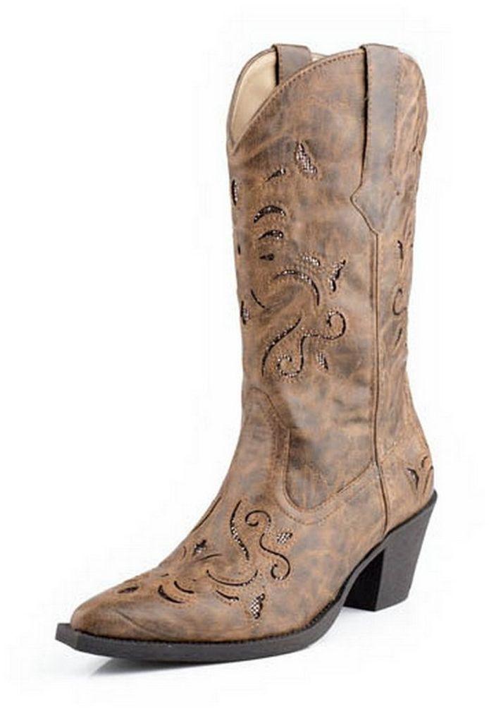 Roper Western Boots Womens Fashion 09-021-1556-0768 TA