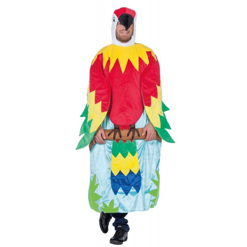 Knorki Papagei im Baum Herrenkostüm