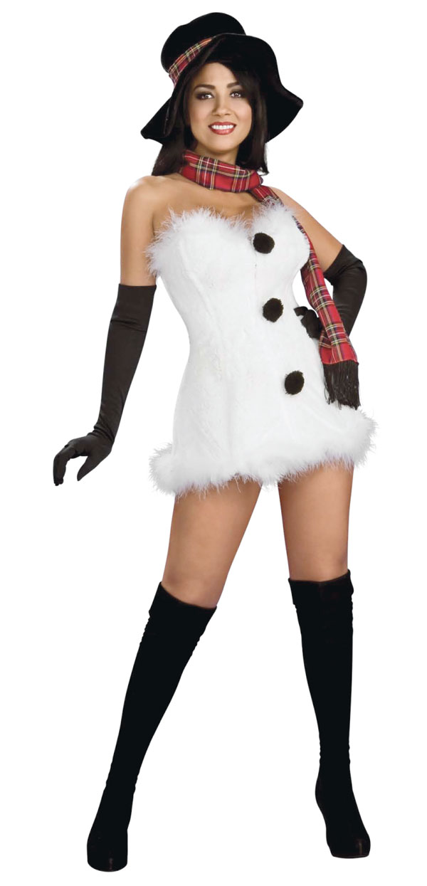 Frostbite Adult Costume - X-Small