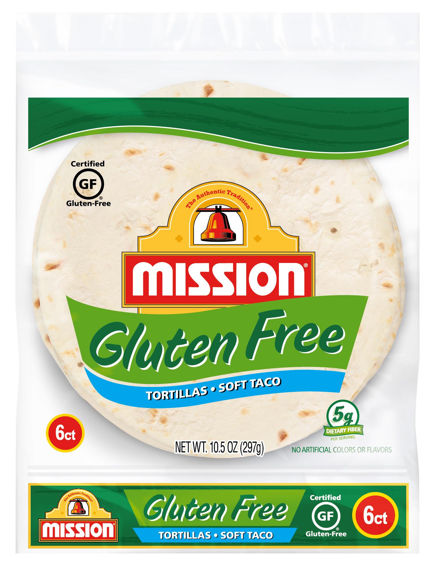 Mission Gluten Free Tortillas 6 Ct