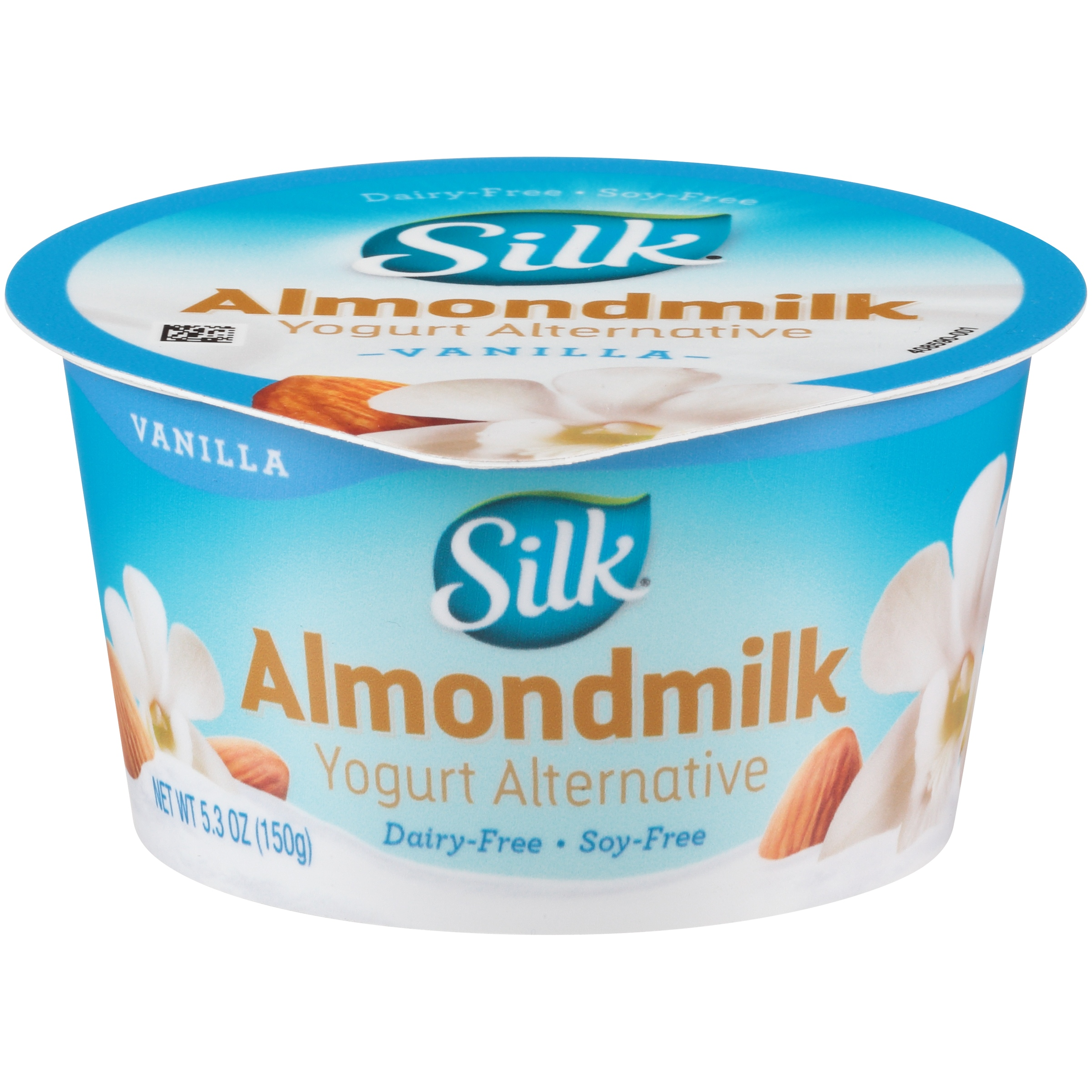 Silk Dairy-Free Vanilla Almond Yogurt - 5.3oz