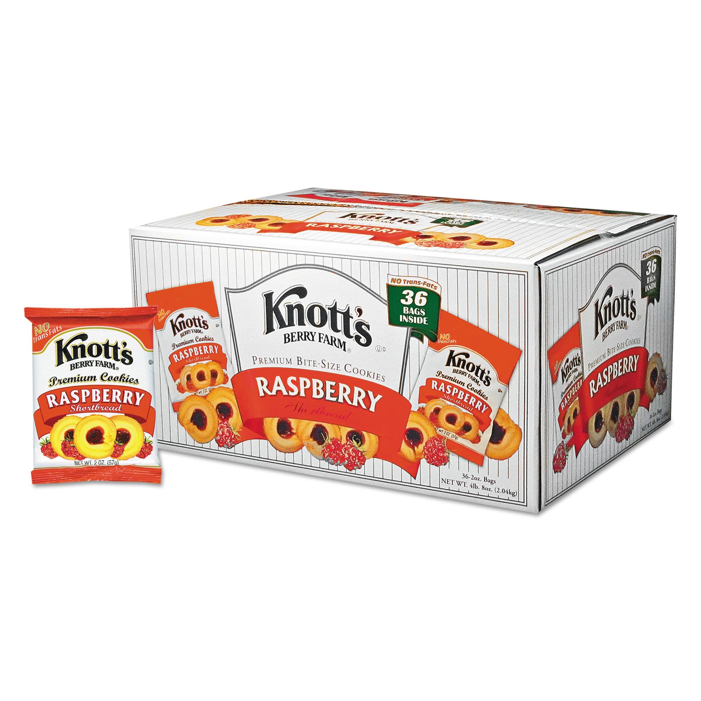 Knott's Berry Farm - Premium Berry Jam Shortbread Cookies 2 Oz Pack 36/Carton