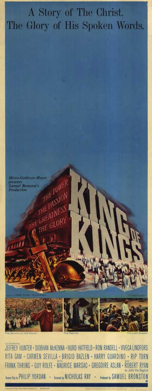 King of Kings - Movie POSTER (Insert Style a) (14