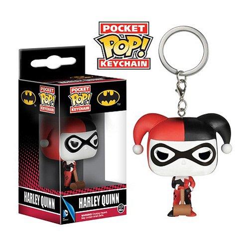 Batman Harley Quinn Pop! Vinyl Figure DC Comics Key Chain
