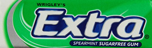 Wrigleys Extra Spearmint Sugarfree Chewing Gum 10 Pellets (Pack of 30, Total 300 Pellets)