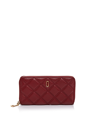 Marc Jacobs Double J Matelasse Standard Leather Continental Wallet