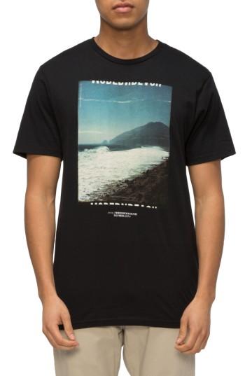 Men's Tavik Views Graphic T-shirt, Size Xx-large - Black
