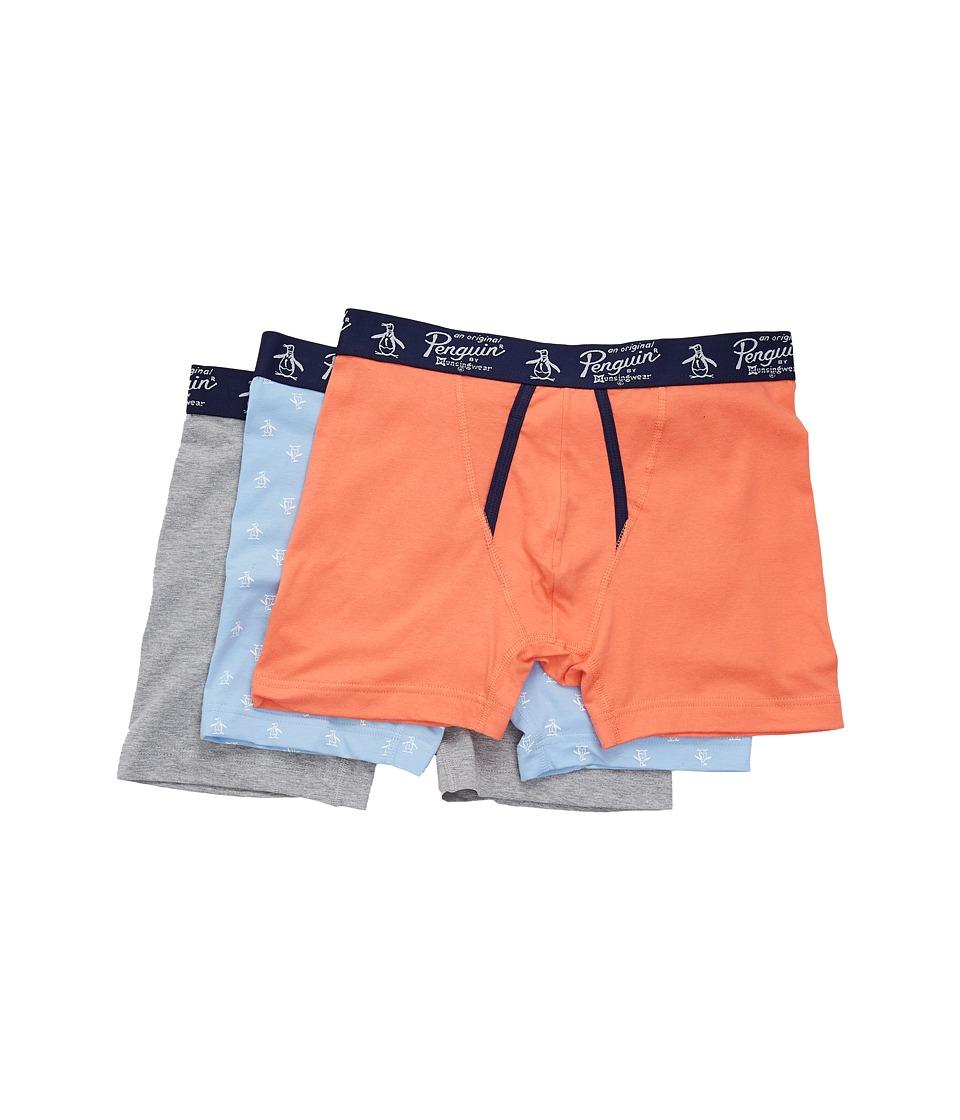 Original Penguin - 3-pack Boxer Brief Set (blue Bell Pack) Men's Underwear