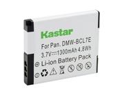 Kastar Battery (1-pack) For Panasonic Dmw-bcl7e, Dmw-bcl7 Work With Panasonic Lumix Dmc-f5, Panasonic Lumix Dmc-fh10, Panasonic Lumix Dmc-fs50, Panaso