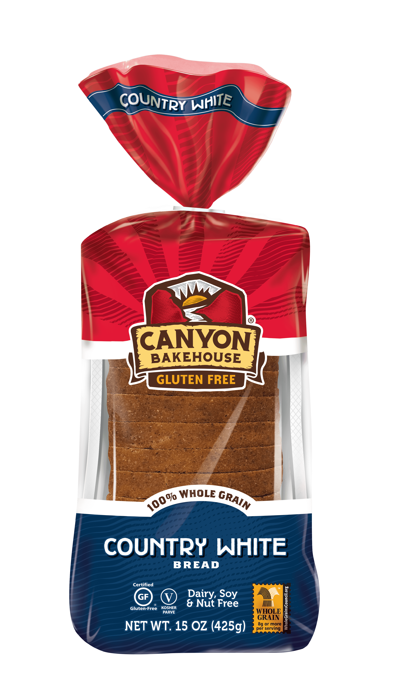 Canyon Bakehouse Gluten Free Stay Fresh Country White Bread - 15oz