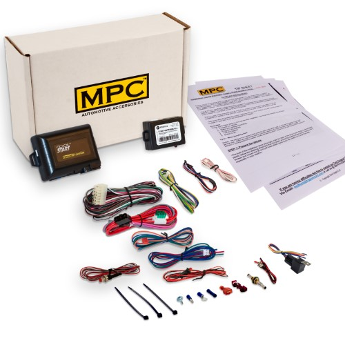 Add-on Remote Start Kit for 2003-2004 Lincoln Town Car - Use Your Factory Remote