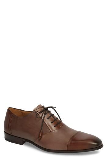 Men's Mezlan Julius Spectator Oxford, Size 8.5 M - Brown