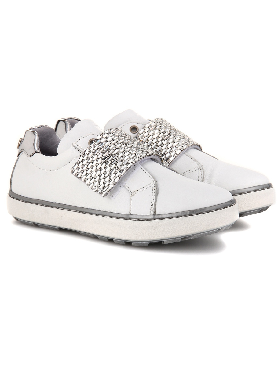 STUART WEITZMAN kids sneakers for girls, white